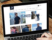 Rediseño web   Aero Concept Temporada AW 2017 y SS 2018