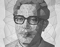 2014 • Low Poly Mosaic of Narayan Gopal (Swar Samarat)