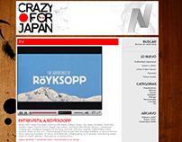 Crazy for japan