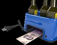 Glorificador y Verificador de Billetes