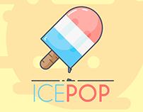 ICEPOP Illustration Line Art
