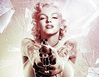Marilyn Monroe - Venice Beach Style