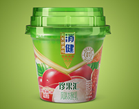3D yogurt packing