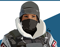 R6:S - Frost Vector Drawing