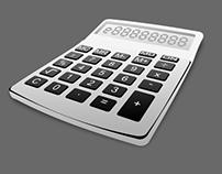 Free Basic Calculator Psd