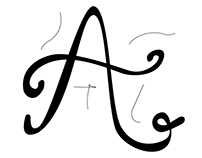 A lettering