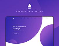 Datasoft - Landing page design