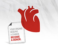 YOUNG LIONS / ORGAN DONOR / PRINT CAMPAING