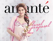 amanté - Floral Proposal