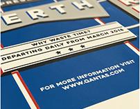 London to Perth - Qantas Ad Campaign