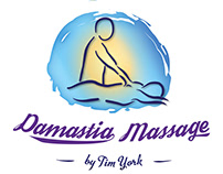 Damastia massage logo design