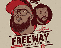 Rec Philly Freeway interview poster