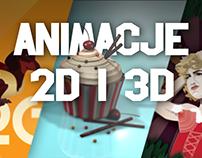Animacje 2D i 3D