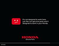Honda Print campaign