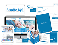 Brand identity per Studio Kol