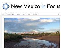 New Mexico In Focus Website Redesign