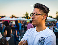 bay area night market. newark, ca. july '17