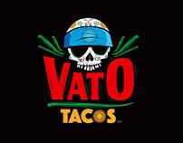 """LOGO DESIGN - """"VATO TACOS"""""""