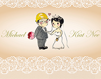 Michael & Kiat Nee Wedding Collateral