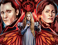 CRIMSON PEAK- FANDANGO- Vector Commission