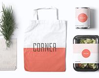 Corner Deli Branding