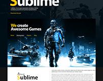 Sublime - Wordpress Theme