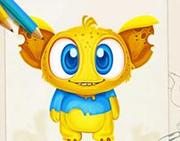 Monster Character Concept Design