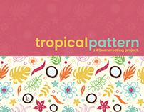 Tropical Pattern - Design