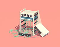 Little Machines - a graphic series