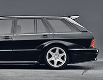 Cars that never been produced. Photoshop projects.