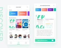 Books App Concept - Discover
