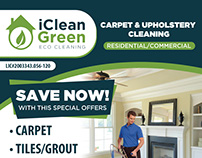 i Clean Green Flyer