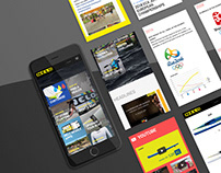 Nelo - Web design