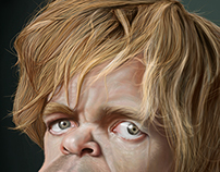 Caricatura de Tyrion Lannister - Game Of Thrones‬