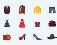 JI-Fashion Vector Icons