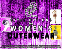 STYLE OPTIONS FOR WOMEN'S OUTERWEAR