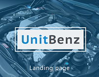 Landing for Unitbenz