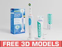 Free 3D Models: Oral-b & Elmex