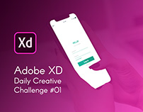 Adobe XD Creative Challenge #1 - Personal Finance App