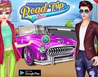 romantic Road trip date