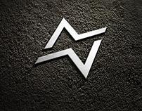 Typographical Logo Design.