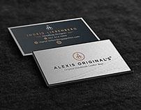 Alexis Original's Branding