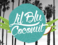 Lil Blu Coconut Mobile Boutique Logo & Branding