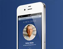 Concept App Dieta Gracie