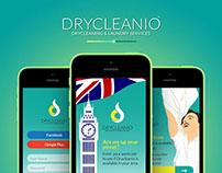 Drycleanio App UI