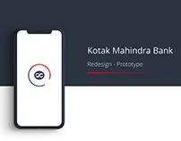 Kotak Mahindra - Redesign