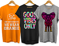 Various T-Shirt Graphics