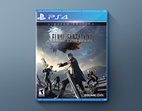FINAL FANTASY XV Disc (Mock up)