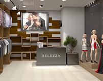 Магазин одежды Belezza в ТЦ Торговый Квартал