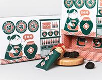 甜梅姨|Plum Abstraction Package Design